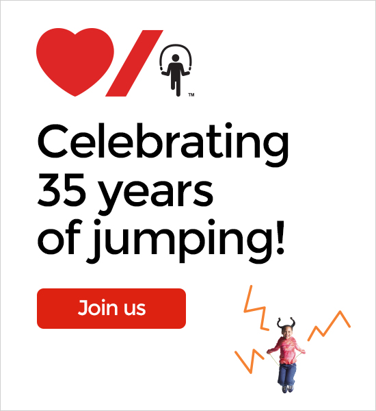 35 years of jumping!