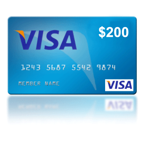 Win a $200 promo Gift Card