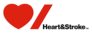 Heart & Stroke Ride for Heart logo